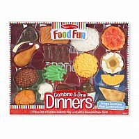 Combine and Dine Dinners RED - 17-piece set