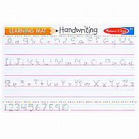 Learning Mat: Handwriting