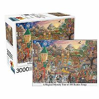 A Magical Mystery Tour of 100 Beatles Songs 3000pc