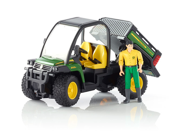 john deere gator xuv 855d with driver raff and friends. Black Bedroom Furniture Sets. Home Design Ideas