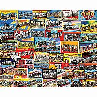 Postcards from America - 1000 Piece