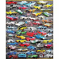 50 Years of Mustangs - 550 Piece