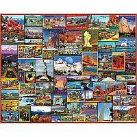 Best Places in America - 1000 Piece