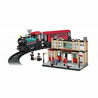 11703 Train and Track 8-in-1 Building Blocks Set