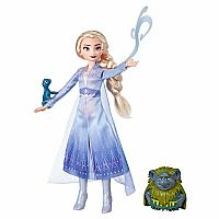 Elsa, Pabbie and Salamander Storytelling Doll Set