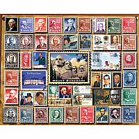 Presidential Stamps - 1000 Piece