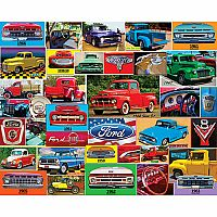 Classic Ford Pickups - 1000 Piece