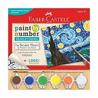 Paint by Number: Starry Night by Vincent Van Gogh