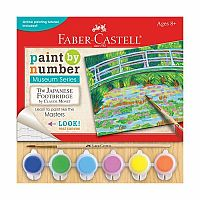 Paint by Number: The Japanese Footbridge by Claude Monet