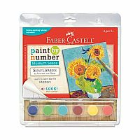 Paint By Number: Sunflowers by Vincent Van  Gogh