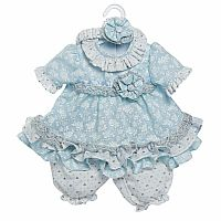 ToddlerTime Fashion: Baby Blues Outfit