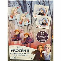 Disney Frozen 2 Memory Match Game