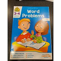 3rd-4th | Word Problems Workbook