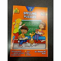 2nd | Spelling Puzzles Workbook