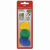 Grip Erasers 3ct
