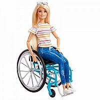 Barbie with Wheelchair