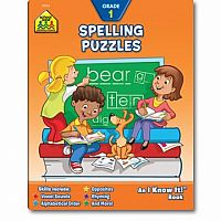 1st | Spelling Puzzles Workbook