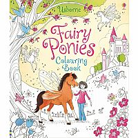 Fairy Ponies Coloring Book