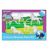 My Dream Horse: Colorful Breeds Paint Kit