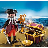 4783 Pirate with Treasure Chest