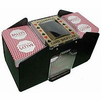 Automatic 4 Deck Card Shuffler