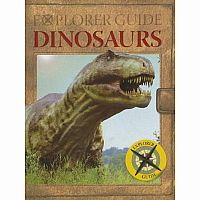 Explorer Guide: Dinosaurs (Pop-Up Book)