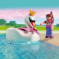 5476 Princess with Swan Boat
