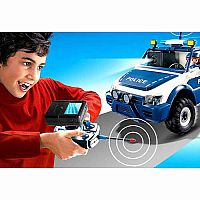 5528 RC Police Car with Camera