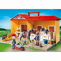 5671 Take Along Horse Stable