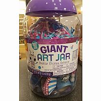 Giant Art Jar Stellar