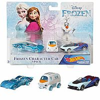 Frozen Character Car 3-Pack