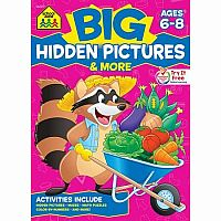 BIG Hidden Pictures & More (Ages 6-8)