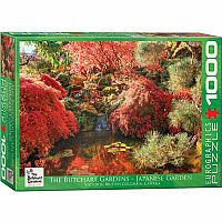 The Butchart Gardens Japanese Garden 1000pc