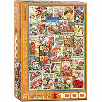 Flowers Seed Catalog Collection 1000pc