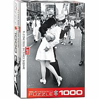 LIFE V-J Day Kiss in Times Square 1000pc