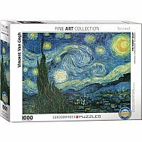 Starry Night by Vincent Van Gogh 1000pc