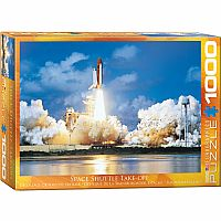 Space Shuttle Take-Off - 1000pc