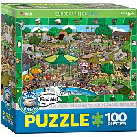 Spot & Find: A Day at the Zoo 100pc