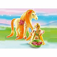 6168 Princess Sunny with Horse