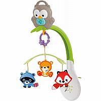 3 in 1 Musical Mobile: Woodland Friends