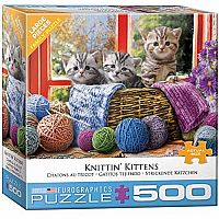 Knittin' Kittens 500pc