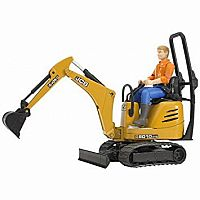 JCB Micro Excavator 8010 CTS and Man