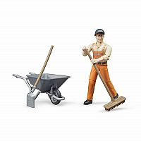 Figure Set: Municipal Worker