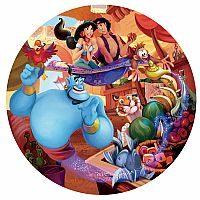 Disney Round: Aladdin 500pc