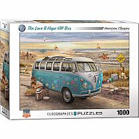 The Love & Hope VW Bus 1000pc
