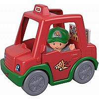 Little People Have-a-Slice Pizza Delivery Car