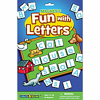 Create A Scene™ Magnetic Fun with Letters™