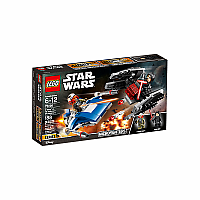 A-Wing™ vs. TIE Silencer™ Microfighters 75196