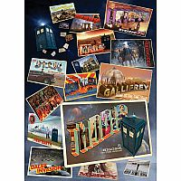Doctor Who: Postcards from the Edge of Space and Time 1000pc