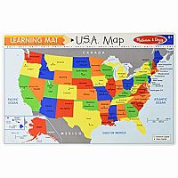 Learning Mat: USA Map